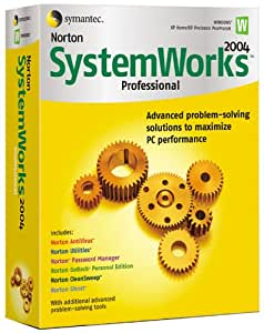 Norton Systemworks Pro 2004 Upgrade (AntiVirus, Utilities, Cleansweep, GoBack, Password Manager, Ghost)