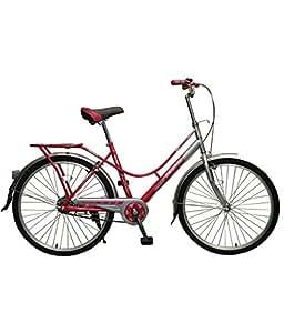 Cosmic Colors Ladies Bicycle, Kid's 26-inch (PINK/GREY)