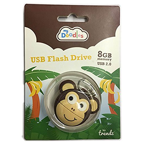 My Doodles dati USB Flash Drive bastone novità per bambini Kids Ddmkyusb Pack of 5