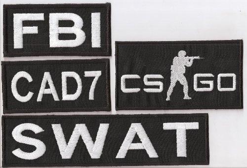 Preisvergleich Produktbild Counterstrike XXL SET Go global offensive CTU Counter Terrorist Unit Aufnäher