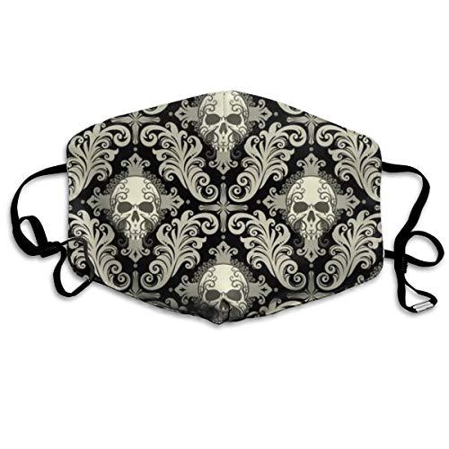 Unisex Anti-Staub-Mundmaske von einem Blumen-Totenkreuz, modische oder Wiederverwendbare Gesichtsmaske für Kinder, Jugendliche, Männer, - Niedliche Clown Kostüm Frauen