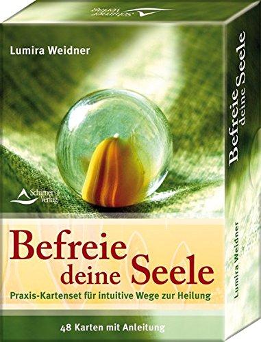 Befreie deine Seele - Praxis-Kartenset für intuitive Wege zur Heilung - 48 Karten mit Anleitung - Lumira Weidner