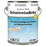 Jaeger Kronalux Schwimmbadfarbe Poolfarbe SEEGRUEN 750 ml