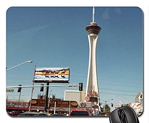 LAS VEGAS STRATOSPHERE TOWER Mouse Pad, Mousepad (Skyscrapers Mouse