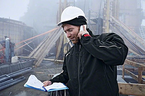 Bosch Professional (Herren) Heiz-Jacke Größe L (für 12V / 10, 8V Akku, ohne Akku, ohne Ladegerät, beheizbare Softshell-Jacke Heat+ Jacket)