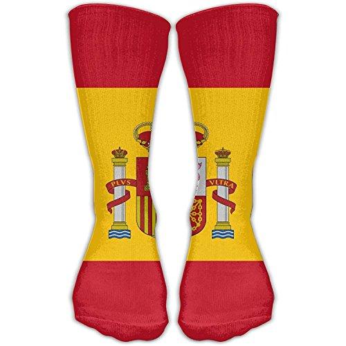 Adult Spain Flag Gifts Socks Fashion Sock