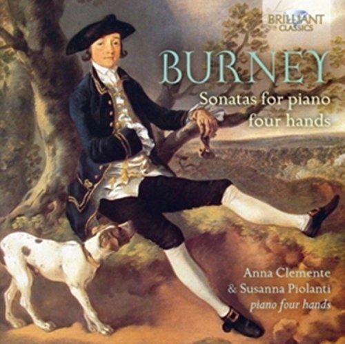Charles Burney : Sonates pour piano à 4 mains. Clemente, Piolanti.