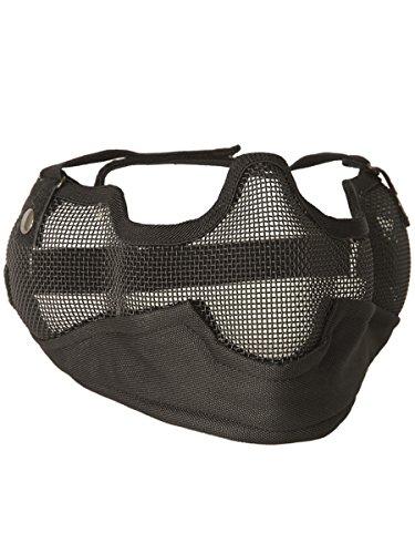 Airsoft Grille de protection Masque Noir Grille de Airsoft masque de ... 1445dfa3ce38