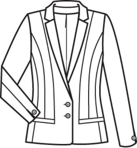 GREIFF Damen-Blazer Anzug-Jacke PREMIUM regular fit - Style 1446 Grau