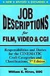 Job Descriptions for Film, Video & Cg...