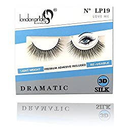 London Pride 3D Silk Eyelash Lp 19