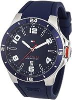 Reloj Tommy Hilfiger 1790862 de cuarzo para hombre con correa de silicona, color azul de Tommy Hilfiger