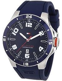 Tommy Hilfiger Herren-Armbanduhr Cool Sport XL Analog Quarz Silikon 1790862