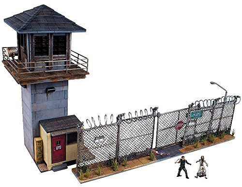 McFarlane Toys Building Sets -The Walking Dead TV Prison Tower & Gate Building Set by McFarlane Toys