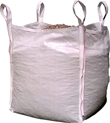 2 x New FIBC Bulk Builders Garden Jumbo 1 ton tonne Bag Waste Sacks Bags Sack