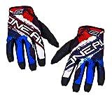 O'Neal Jump MX DH Handschuhe Shocker Schwarz Rot, 0385JS-8, Größe L