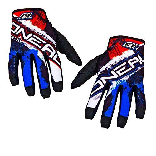 O'Neal Jump MX DH Handschuhe Shocker Schwarz Rot, 0385JS-8, Größe M