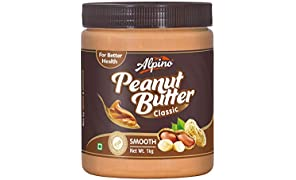 Alpino Smooth Peanut Butter, 1kg