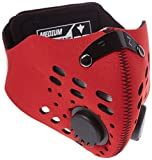RZ Mask Red – Atemschutzmaske mit Aktivkohlefilter plus 1 Filter und Etui gratis! (Medium/Small)