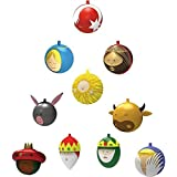 Alessi Set Of 10 Christmas Decoration Tree Baubles by Alessi