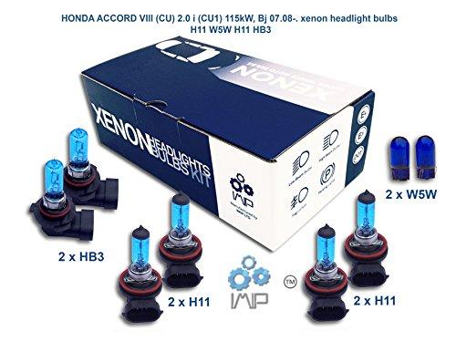 honda-accord-viii-cu-20-i-cu1-115-kw-bj-0708-xenon-lampen-scheinwerfer-h11-w5-w-h11-hb3
