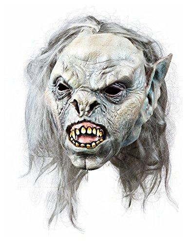 Latexmaske böser Troll keine Größe