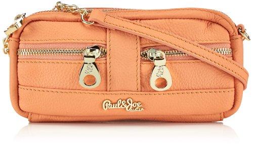 Paul & Joe Sister - Borsa modello baguette, Donna, Arancione, 20x10x3 cm (L x A x P)