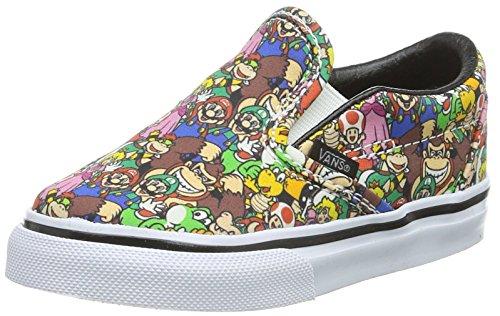 Vans Classic Slip-On, Scarpe Primi Passi Unisex - Bimbi 0-24, Multicolore ((Nintendo) Super Mario Bros/Multi), EU
