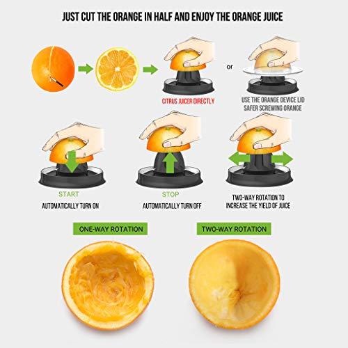 Slow Juicer elektrischer Entsafter für Gemüse und Obst Bild 5*