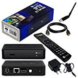 MAG 250 Original IPTV SET TOP BOX Multimedia Player Internet TV IP Receiver + Großer WLAN Stick + HB Digital HDMI Kabel
