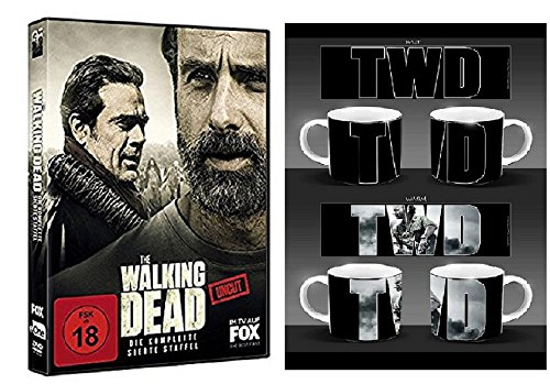 Produktbild The Walking Dead Staffel 7 [6 DVDs] + The Walking Dead Kaffeetasse