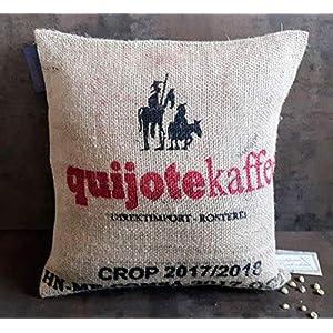 Kaffeesack Deko Kissen Honduras. 40×40 mit Füllung