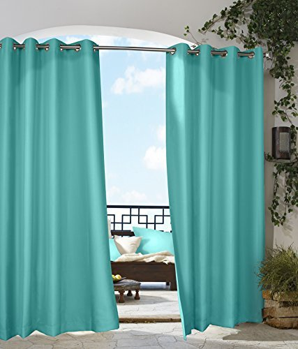 Thermalogic Gazebo Outdoor Panel, 50 by 84-Inch, Aqua by Thermalogic -