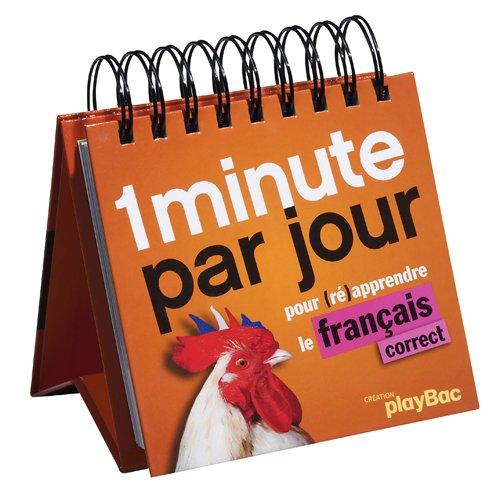 1 minute par jour de français correct !