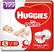 Huggies Dry Pants Small Size Diapers (20 count)