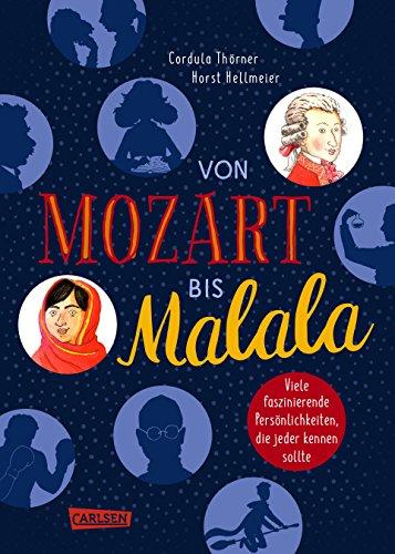 Von Mozart bis Malala: Faszinierende Persönlichkeiten, die jeder kennen sollte