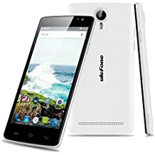 Ulefone Be Pure Lite - 3G Smartphone Libre Android 6.0 (5 Pulgadas, Dual SIM, MT6580 Quad Core 1.3GHz, 8G, 1GB RAM, 8.0MP Cámara, GPS, WIFI, Bluetooth, Multi-Idiomas) (Blanco)