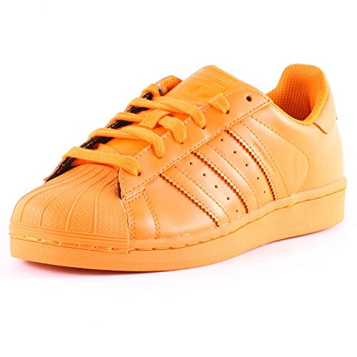 adidas Superstar Foundation Herren Sneakers Orange (Hellorange/Hellorange/Hellorange)