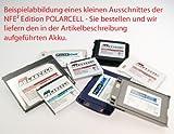 Nürnberger First Electronics NFE² Edition Polarcell Akku - 1000mAh - für Siemens CXO65, CXV65, M65, M75, M81, ME75, S65, S65V, S75, SK65, SP65 und Emoty