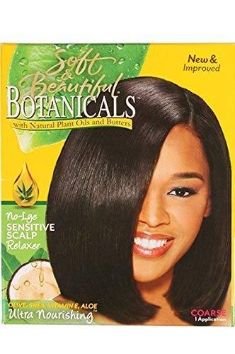 Soft & Beautiful Botanicals n'Alternativ sensibles du cuir chevelu Défrisant épais 1 Application