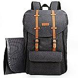 HapTim Wickeltasche Rucksack großer Kapazität Taschen/Multifunktional Schick & Kinderwagen Straps Babytasche Reisetasche für Unterweg (eu5312DG)