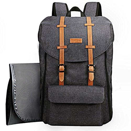 Sac à dos de voyage pour bébé, sac à langer grande capacité avec sac à langer/sangles pour...