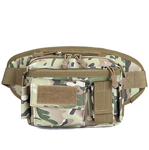 &zhou Kleine Taschen abnehmbar für den Einsatz im freien Männer und Frauen kombiniert Geldbörsen Bewegung Schulter Umhängetasche 6