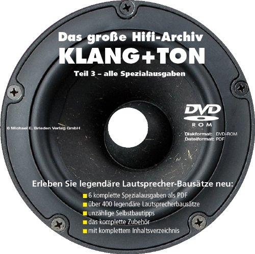 Preisvergleich Produktbild KLANG+TON - Heftarchiv Teil 3: Spezialausgaben