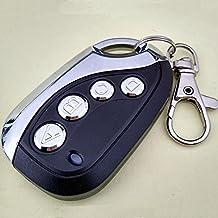 Merssavo Clé de télécommande Clonage de porte de garage universel sans fil Noir