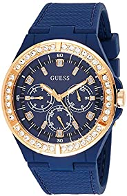 Guess Women's watch Multi-function Display Quartz Movement Silicone W10