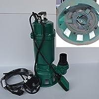 Fäkalienpumpe Schmutzwasserpumpe mit Schneidwerk IBO 1500Watt Spannung: 230V/50Hz Fördermenge: 7800l/h=130 l/min + Überspannungsschutz.