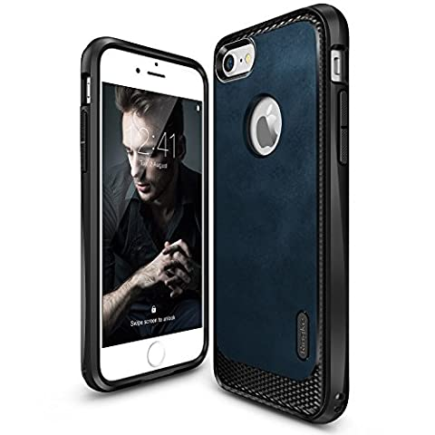 iPhone 7 Hülle, Ringke [Flex S] texturierter Leder Style, flexibles