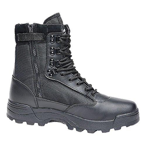 Brandit Boots Tactical Zipper schwarz Schuhgröße 43