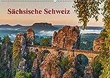 Sächsische Schweiz (Wandkalender 2020 DIN A2 quer): Traumhafte Landschaft im Elbsandsteingebirge (Monatskalender, 14 Seiten ) (CALVENDO Natur) -